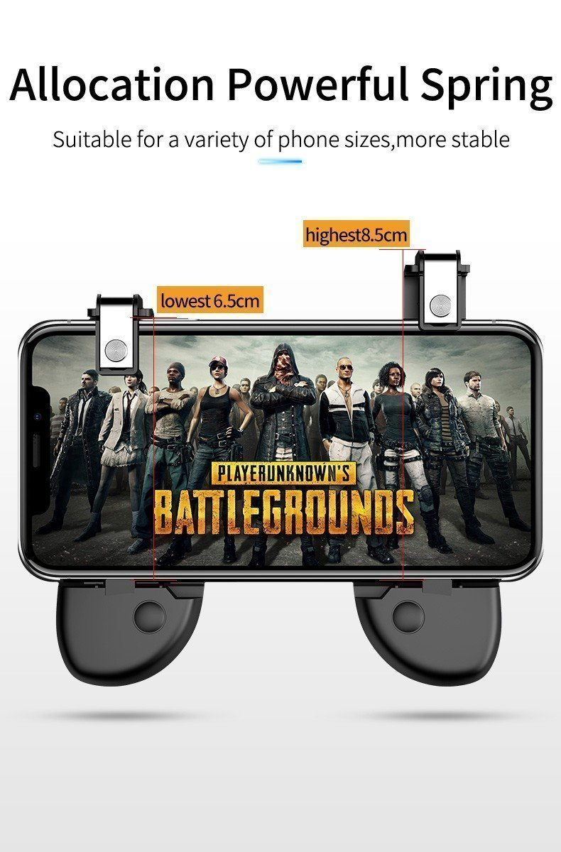 Six Finger Pubg Mobile Game Controller (5)
