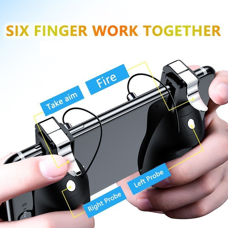 Six Finger Pubg Mobile Game Controller (8)