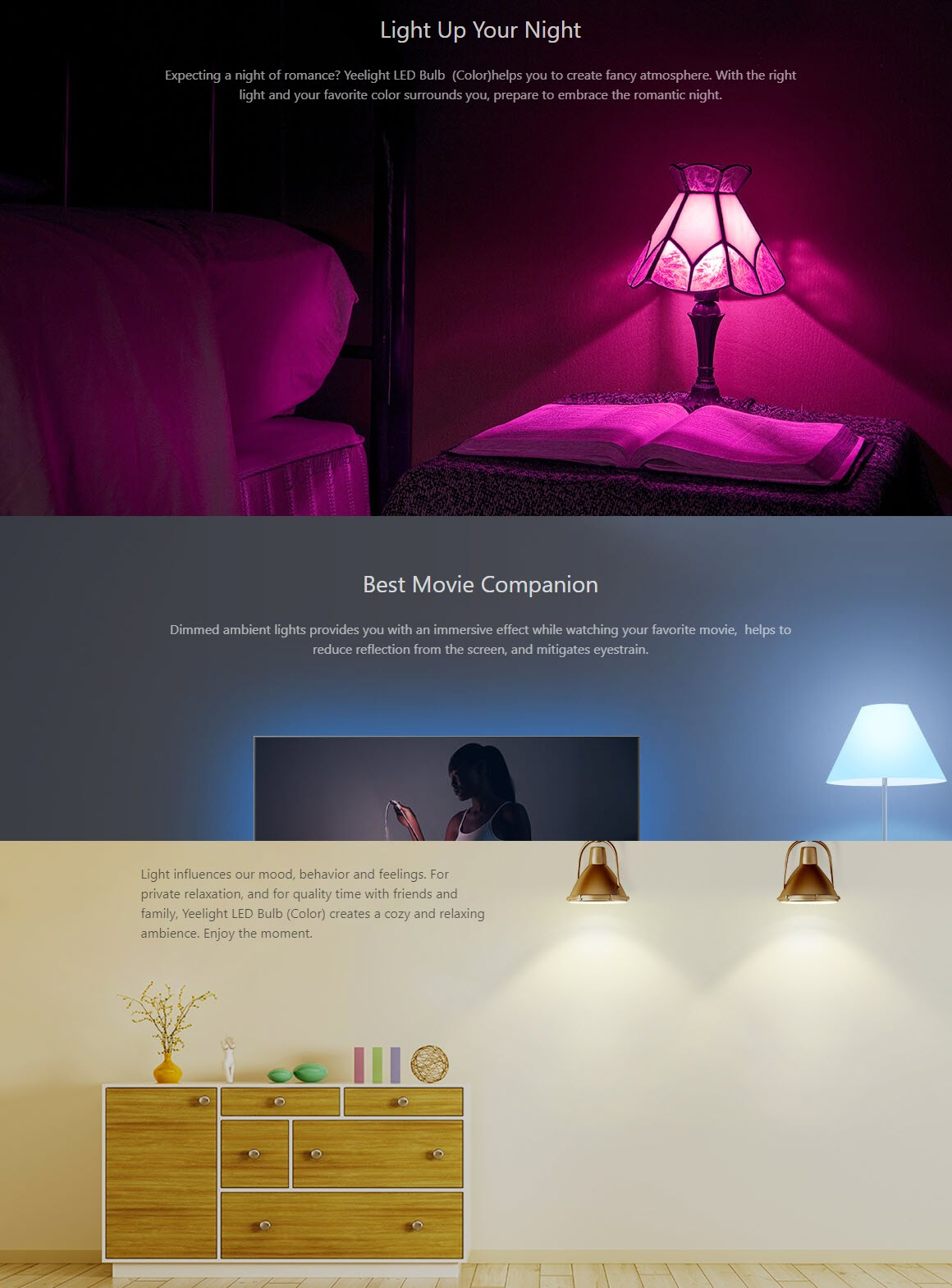 Xiaomi Yeelight Smart Led Bulb Colorful (3)