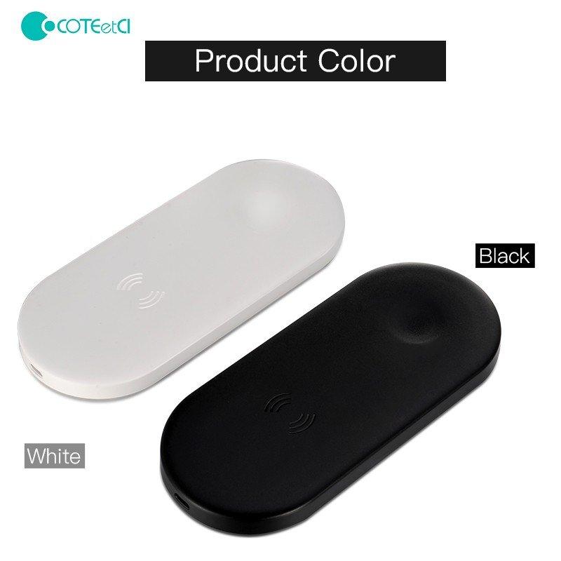 Coteetci 2 In 1 Wireless Charging Pad (1)