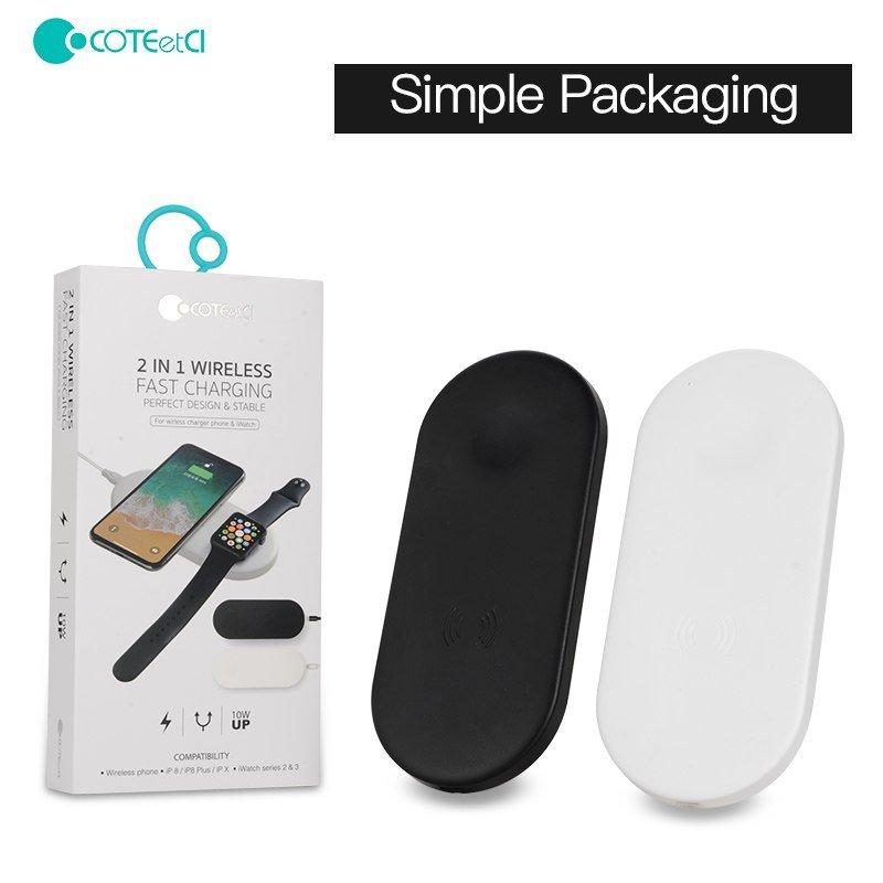 Coteetci 2 In 1 Wireless Charging Pad (4)