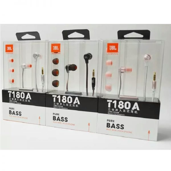 Jbl T180a Wired Earphone (5)