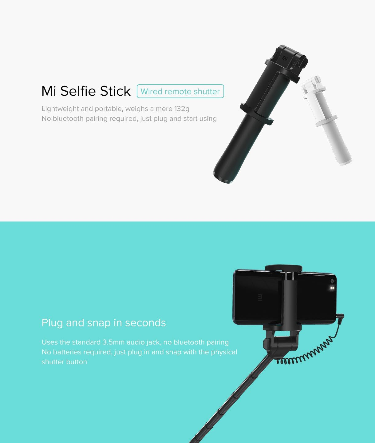 Mi Selfie Stick Extendable (15)