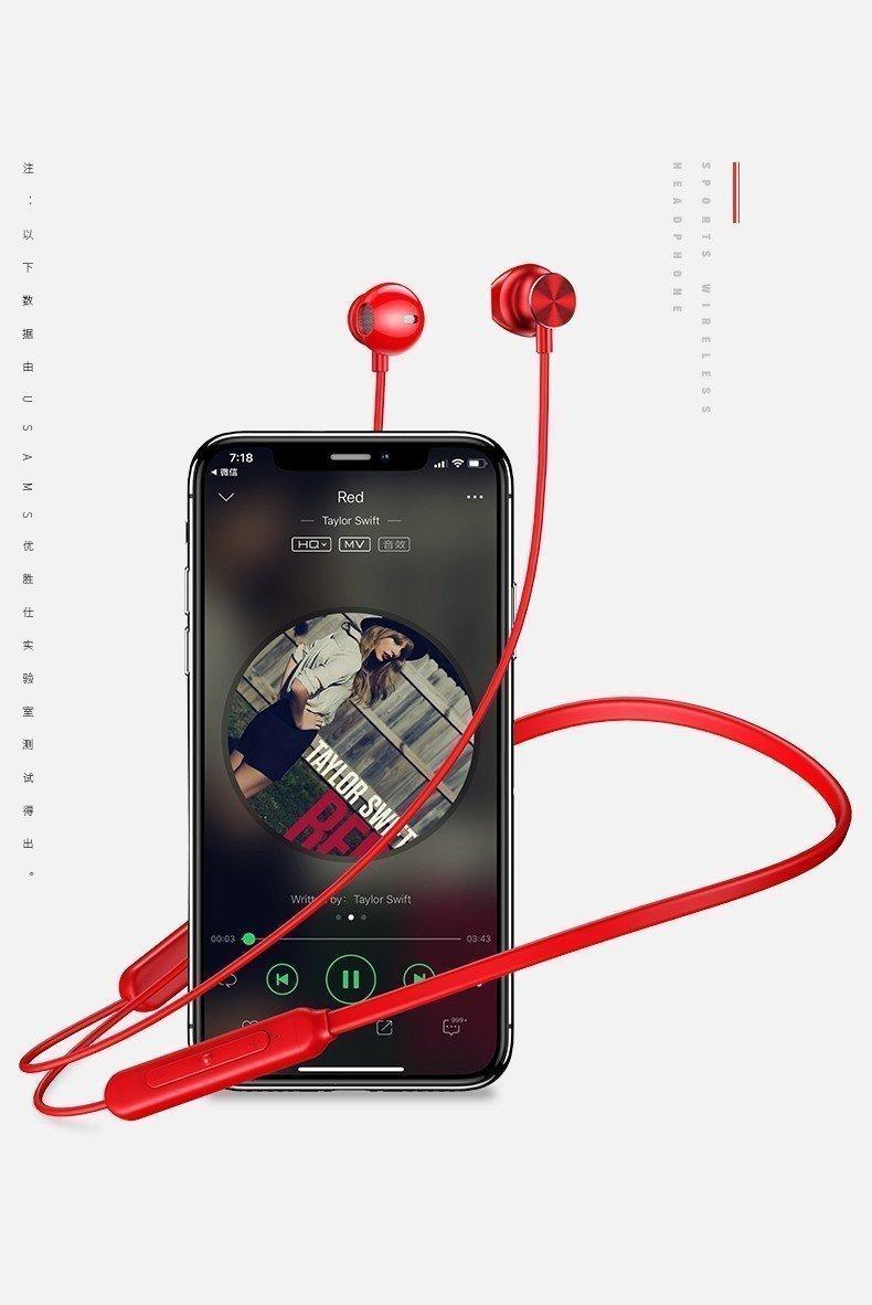 Usams S1 Magnet Wireless Stereo Headphones (10)