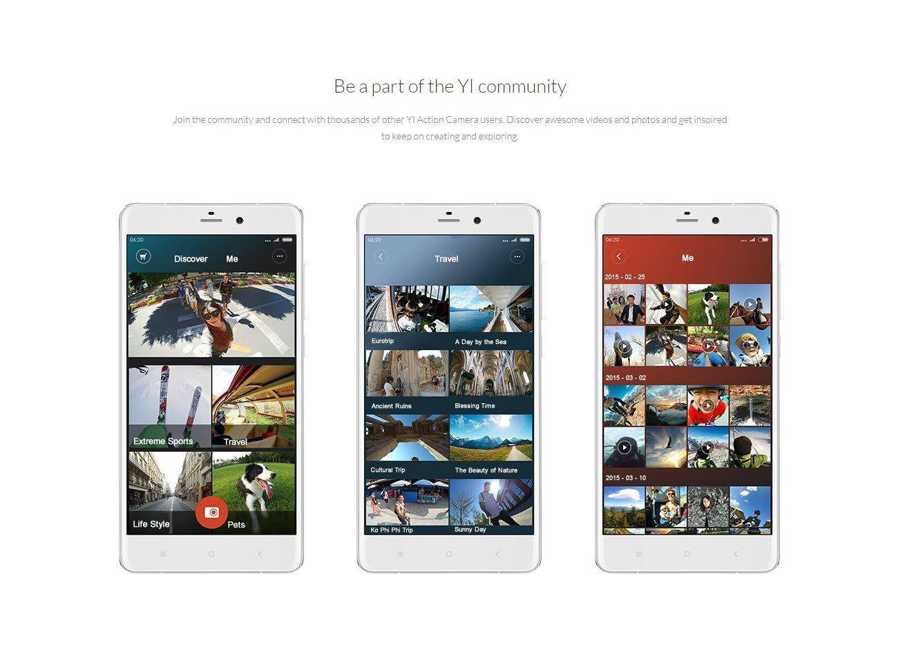 Xiaomi Yi Action Camera 2k With Monopod (11)