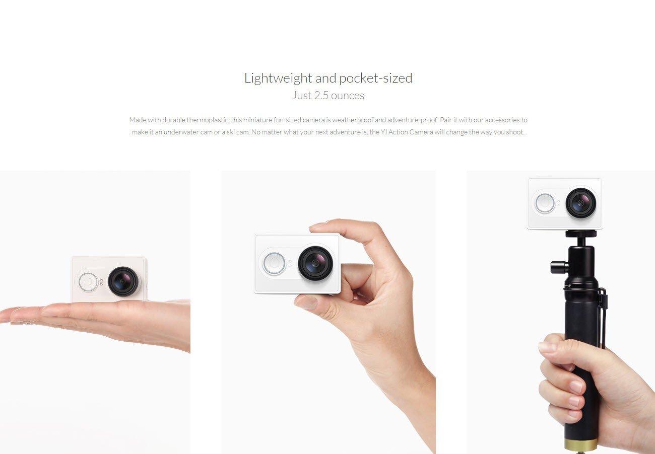 Xiaomi Yi Action Camera 2k With Monopod (12)