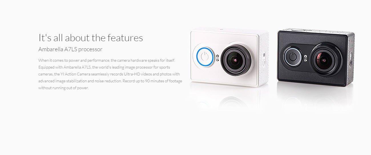 Xiaomi Yi Action Camera 2k With Monopod (14)