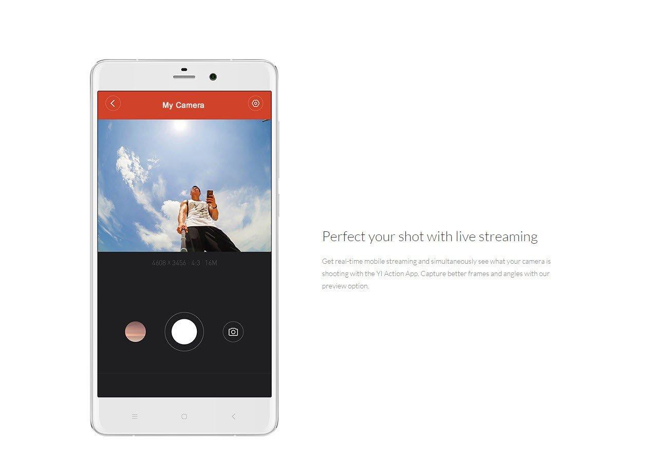 Xiaomi Yi Action Camera 2k With Monopod (9)