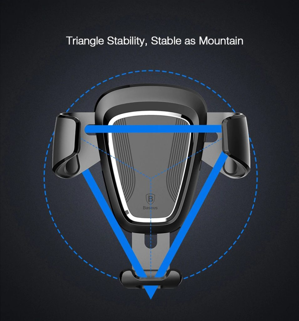 Baseus Gravity Car Mount (1)