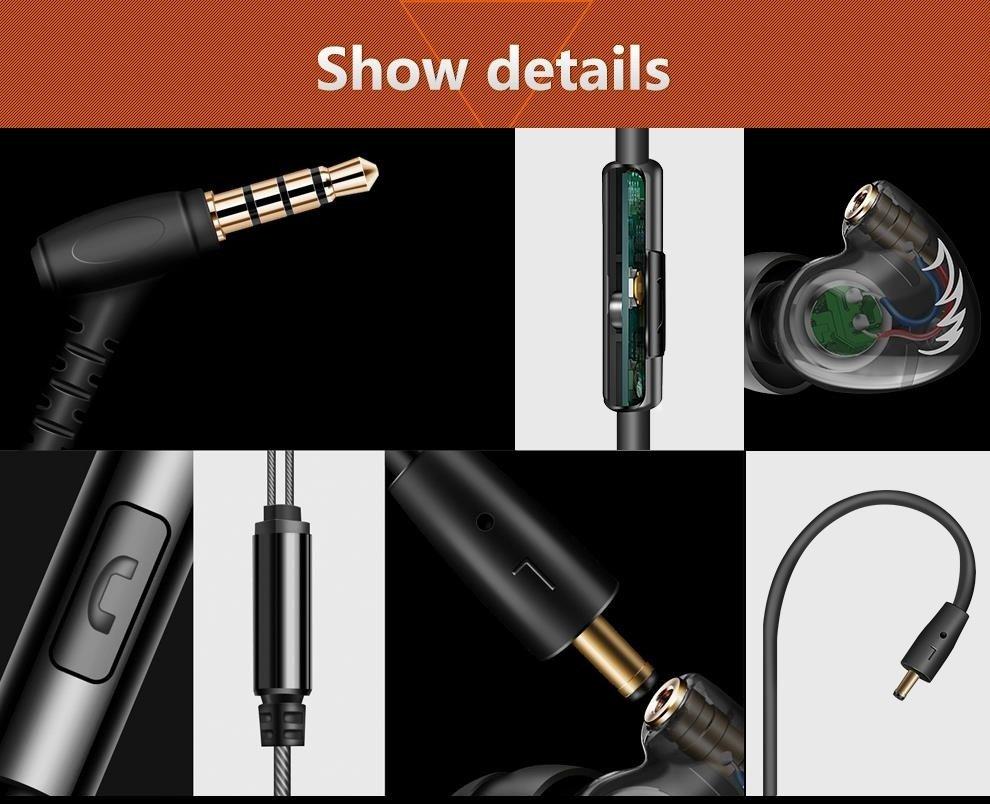 Qkz Dm300 In Ear Super Bass Stereo Hifi Earphone (6)