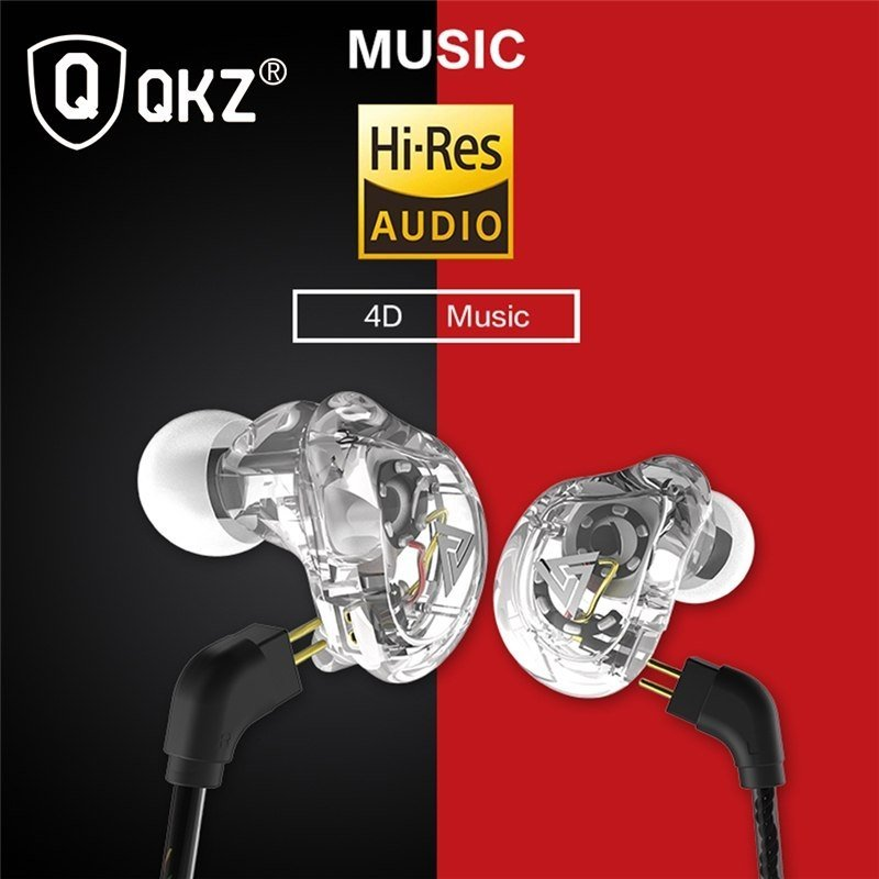 Qkz Vk1 4dd In Ear Earphone Hifi Dj Monito Running Sport Earphone (4)