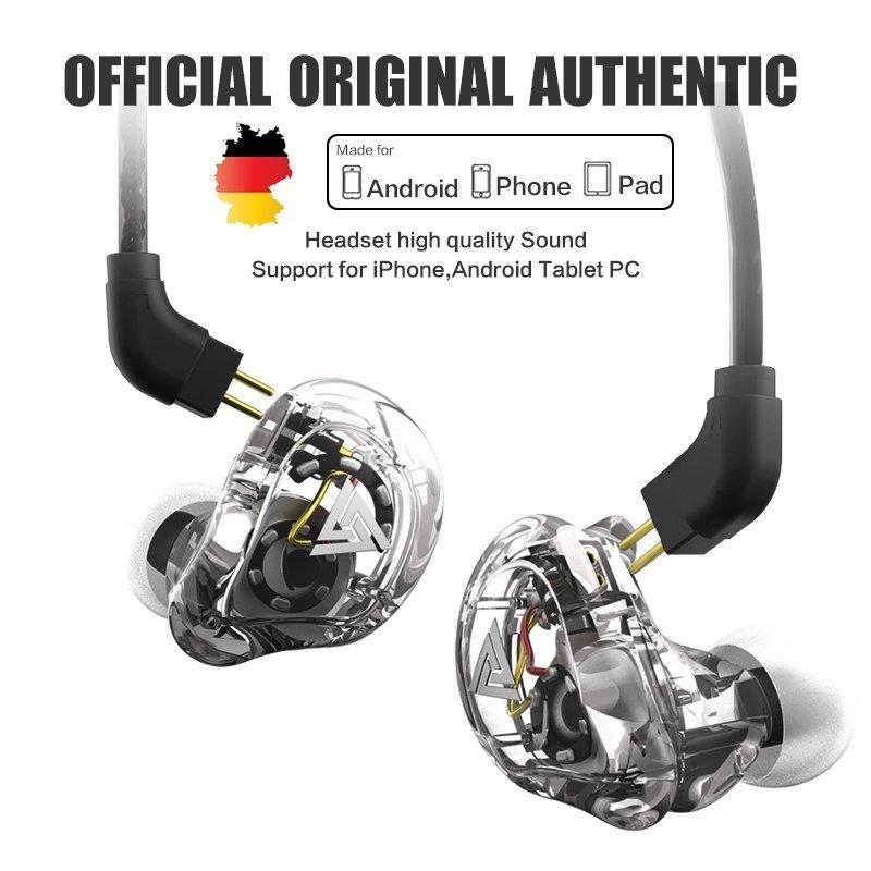 Qkz Vk1 4dd In Ear Earphone Hifi Dj Monito Running Sport Earphone (7)