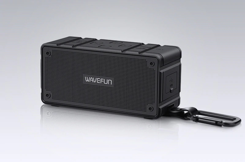Wavefun Cuboid Mini Portable Ip65 Waterproof Wireless Bluetooth Speaker (10)