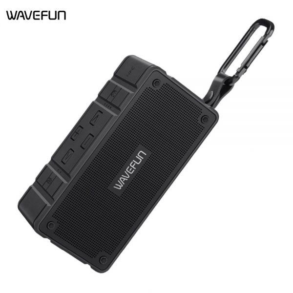 Wavefun Cuboid Mini Portable Ip65 Waterproof Wireless Bluetooth Speaker (6)