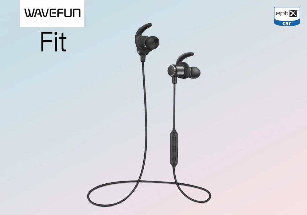 Wavefun Fit Sport Bluetooth Earphone (9)