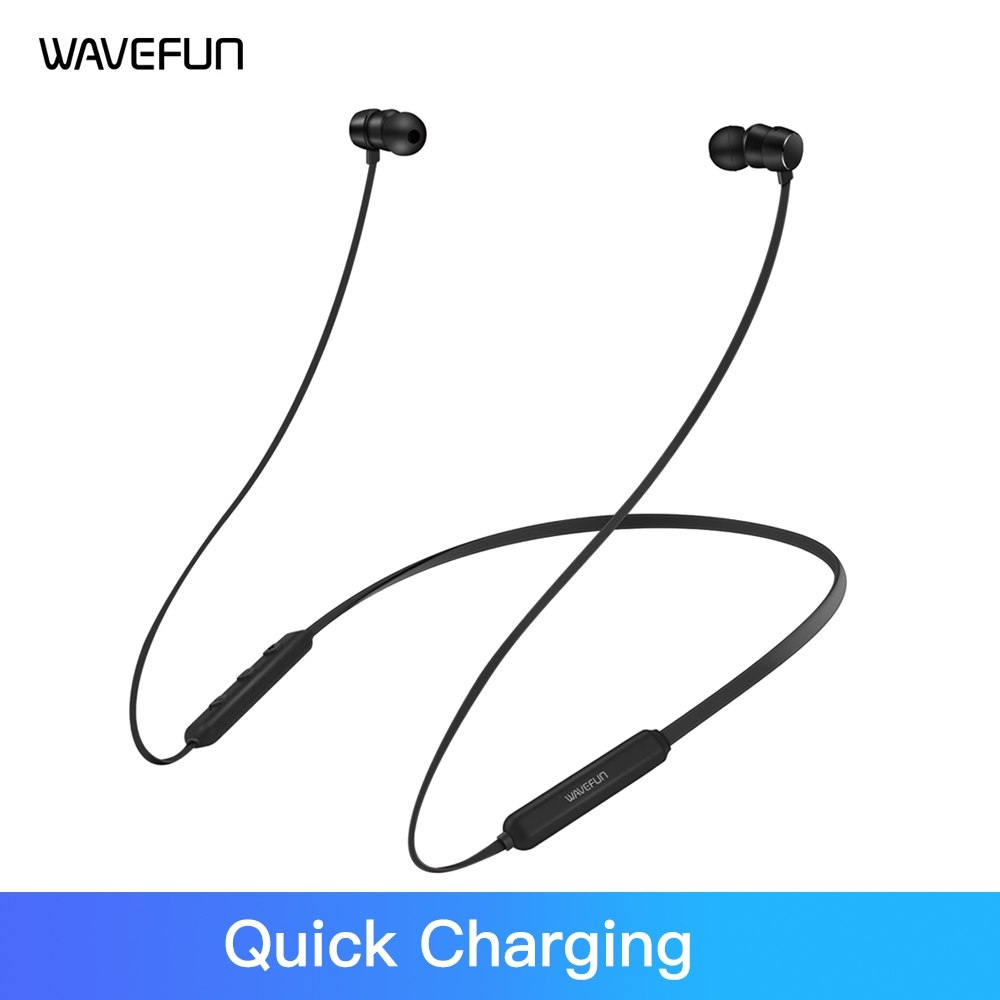 Wavefun Flex Pro Quick Charging Aac Bluetooth Earphone Wireless Headphones (6)