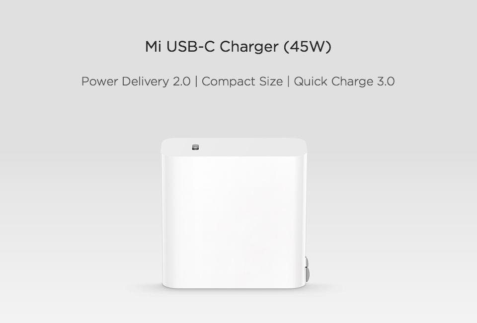 Xiaomi Mi Usb C Charger 45w Max Smart Output Type C (3)
