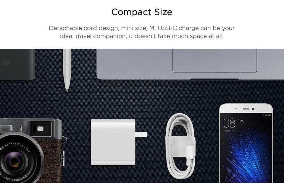 Xiaomi Mi Usb C Charger 45w Max Smart Output Type C (5)