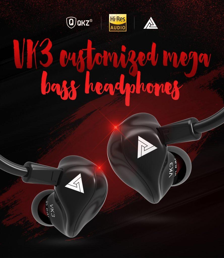 Qkz Vk3 In Ear Earphone Sports Earbuds (1)