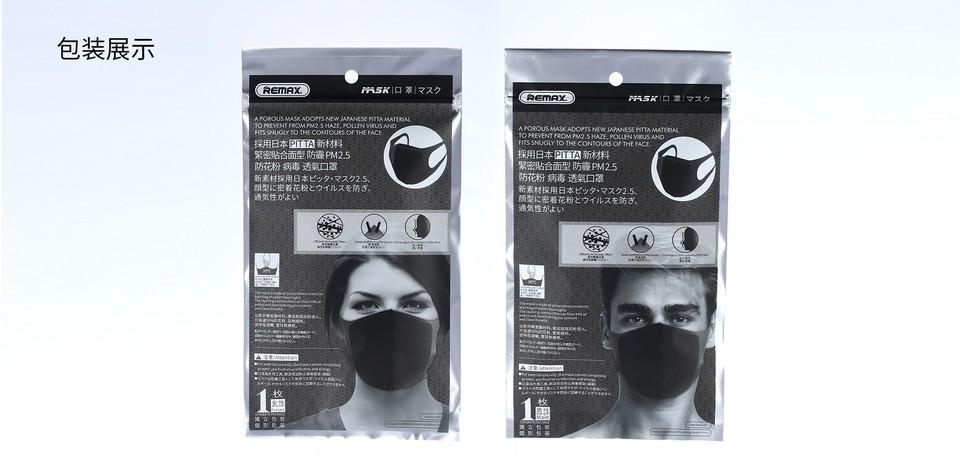 Remax Pitta Face Mask Anti Haze Anti Dust (15)