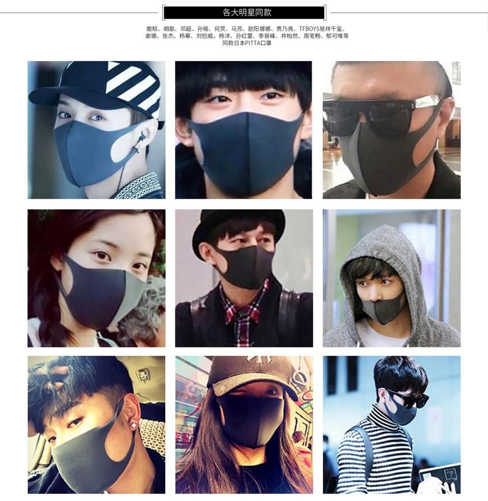 Remax Pitta Face Mask Anti Haze Anti Dust (5)