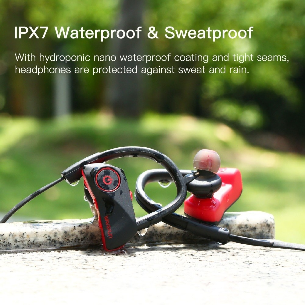 Wavefun Super X Sport Bluetooth Earphones Stereo Earbuds (2)