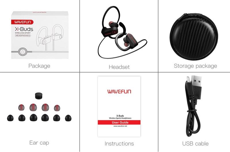 Wavefun X Buds Wireless Bluetooth 4 1 Earphones (4)
