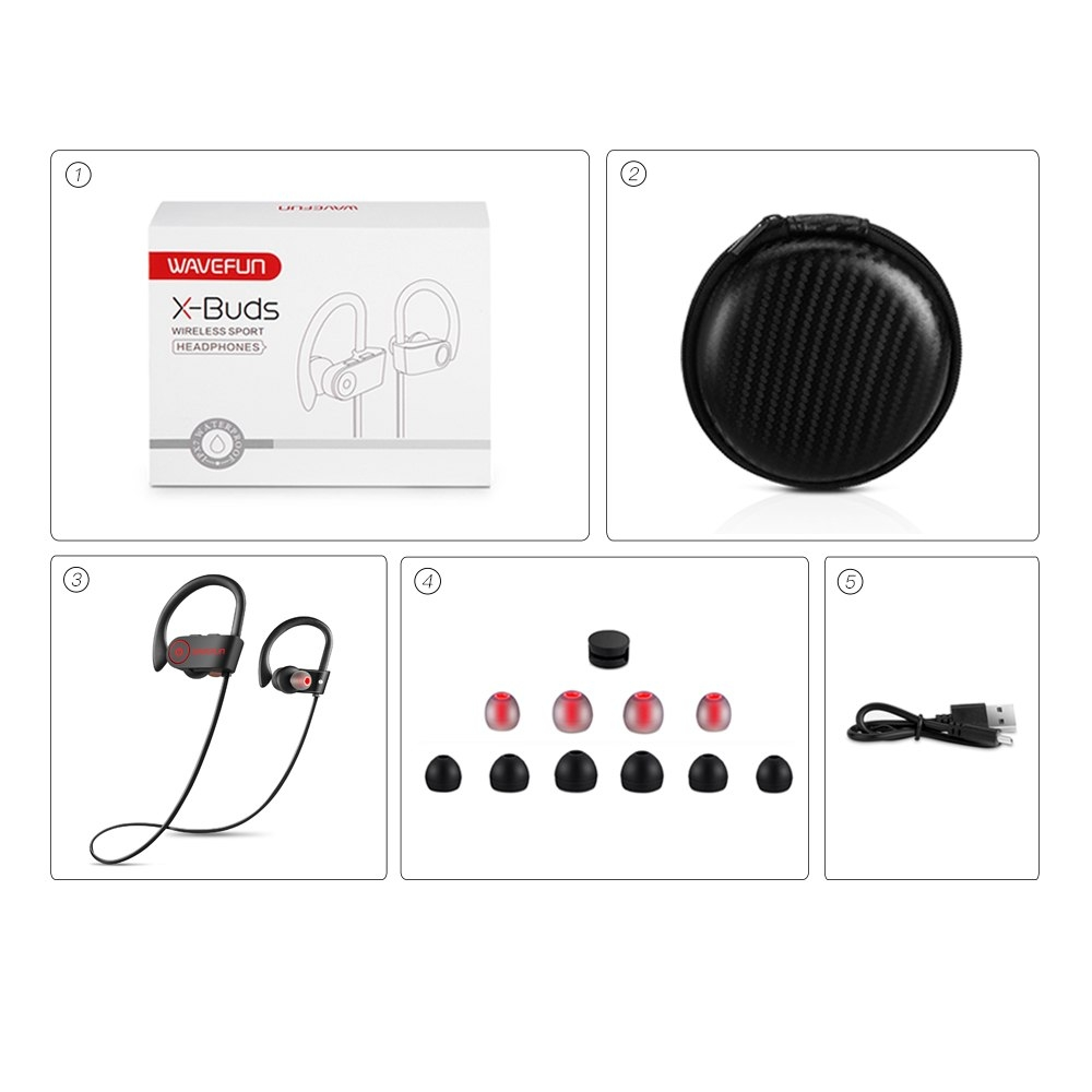 Wavefun X Buds Wireless Bluetooth 4 1 Earphones (5)