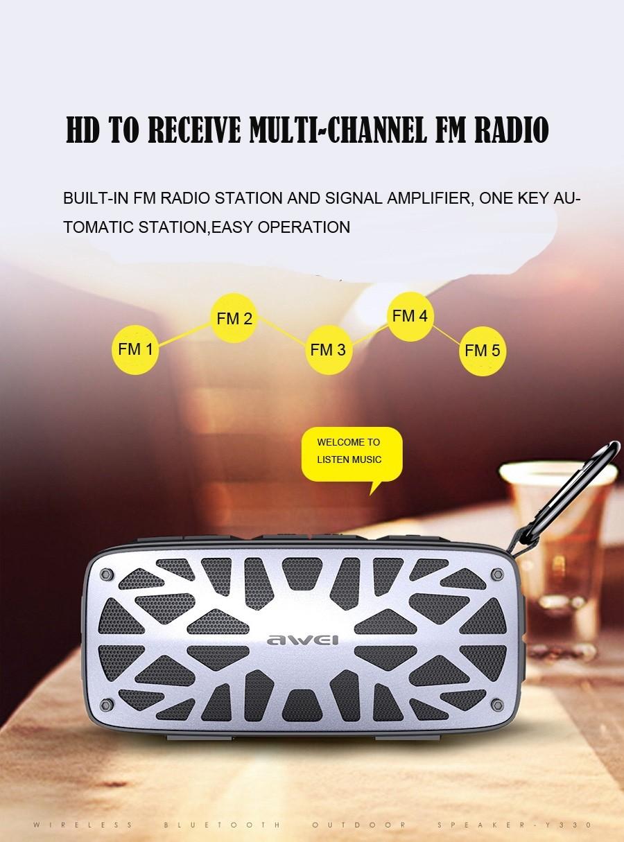 Awei Y330 Wireless Tws Bluetooth Speaker (10)