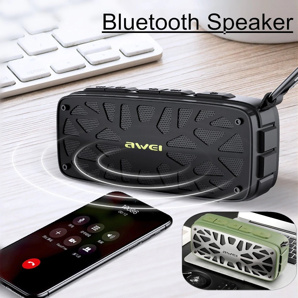 Awei Y330 Wireless Tws Bluetooth Speaker (11)