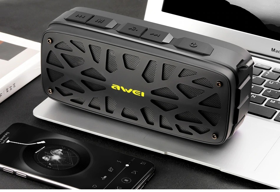 Awei Y330 Wireless Tws Bluetooth Speaker (12)