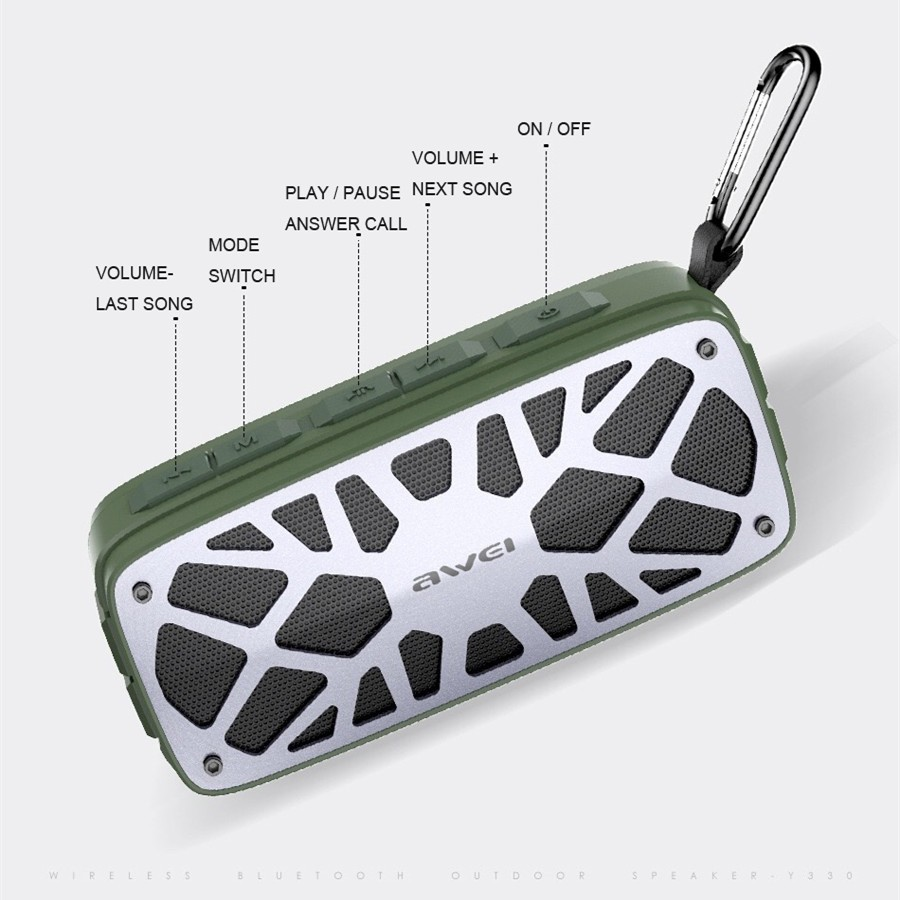 Awei Y330 Wireless Tws Bluetooth Speaker (3)