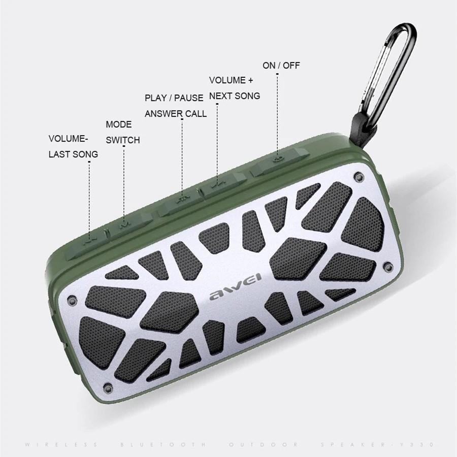 Awei Y330 Wireless Tws Bluetooth Speaker (4)