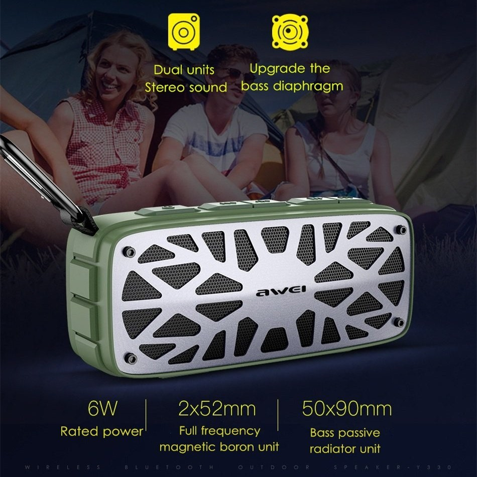 Awei Y330 Wireless Tws Bluetooth Speaker (5)