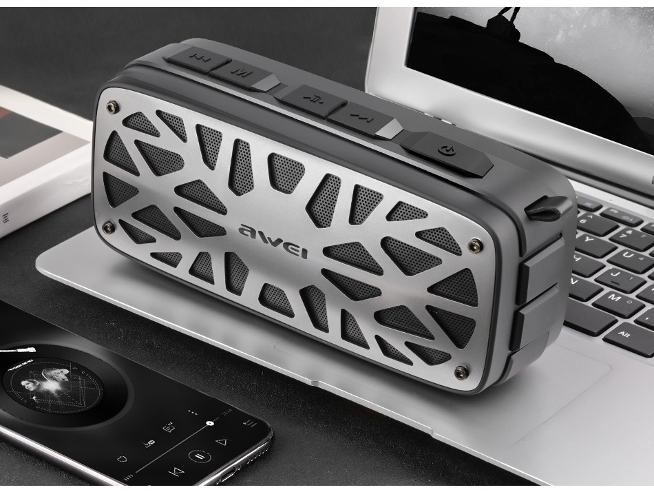 Awei Y330 Wireless Tws Bluetooth Speaker (7)