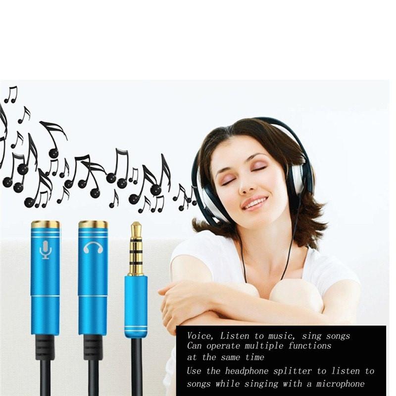 Headphone Mic Audio Splitter Male To Female (4)