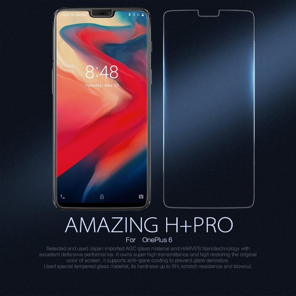 Nillkin Amazing H+ Pro Tempered Glass Screen Protector For Oneplus 5t (4)