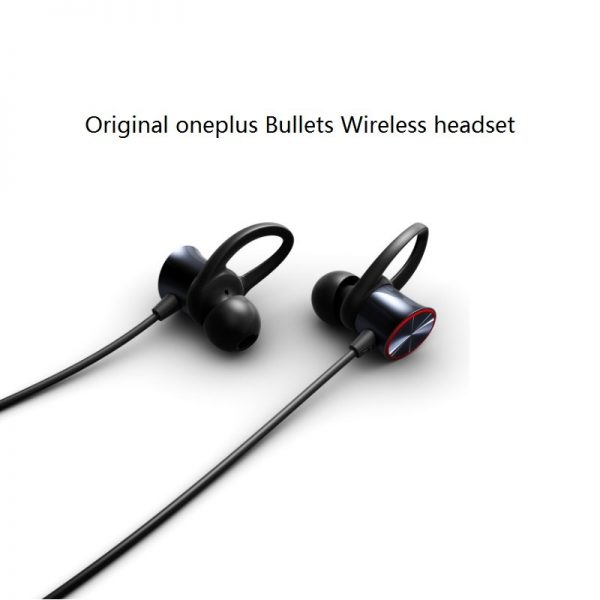 Original Oneplus Bullets Wireless Earphones Free Your Music Magnetic Mic Control Water Resistant Fast Charge Support.jpg (2)