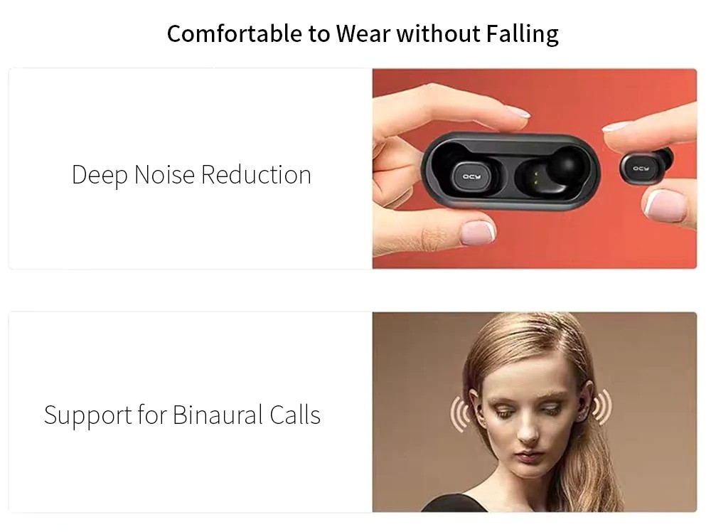 Qcy T1 Mini Bluetooth 5.0 Wireless Earbuds (3)