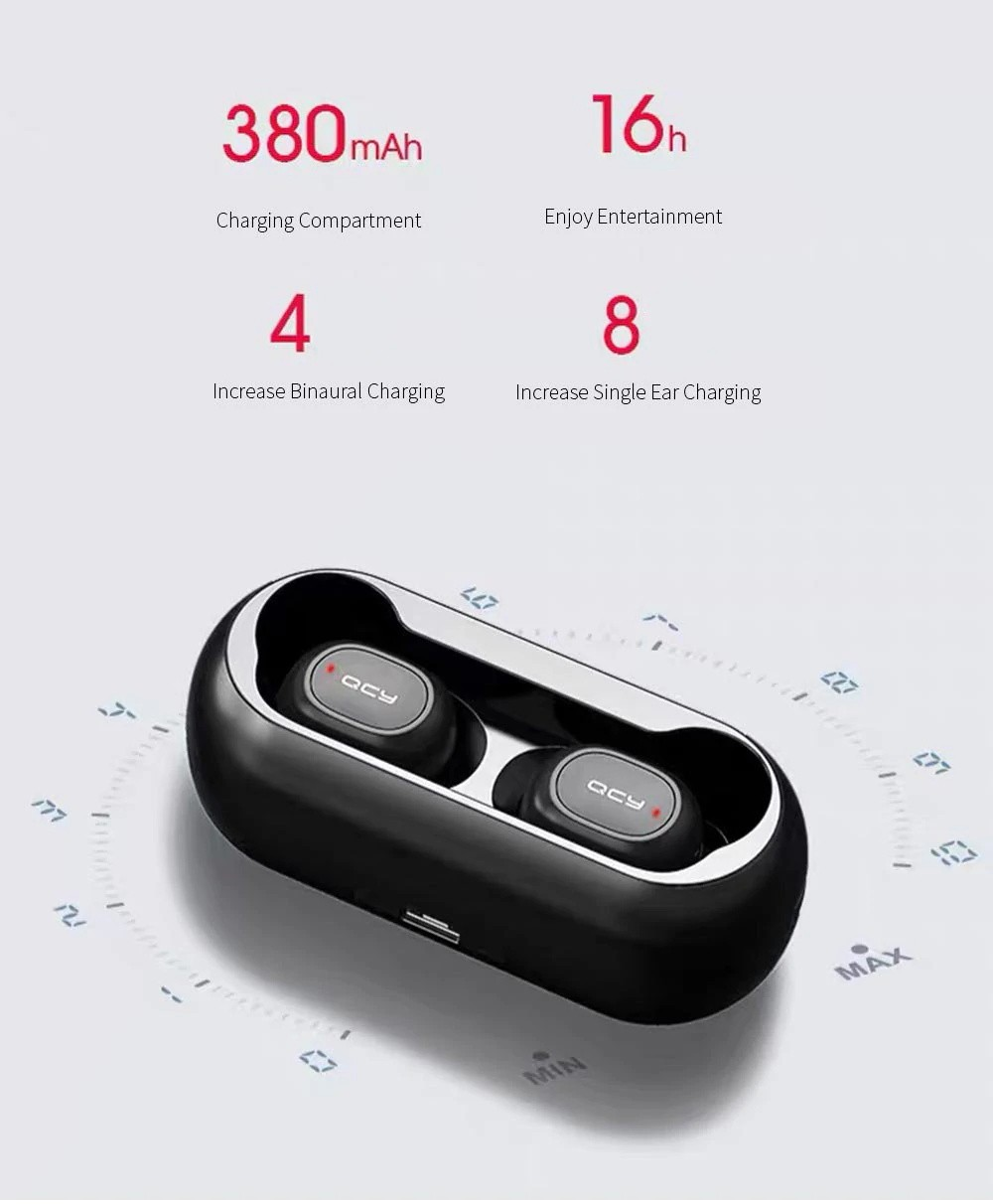 Qcy T1 Mini Bluetooth 5.0 Wireless Earbuds (5)