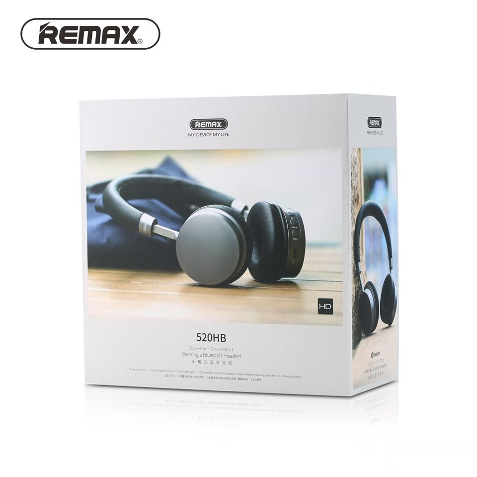 Remax Bluetooth 4 2 Wireless Headphones 520hb Adjustable Earphone Stereo Bass Comfort Headset With Micphone For.jpg (5)