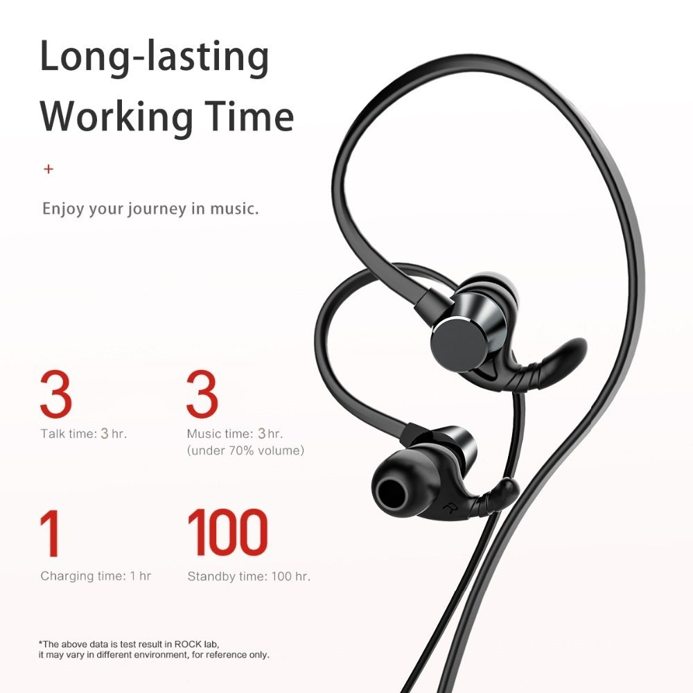 Rockspace Muvia H1 Running Wireless Bluetooth Earphone (1)