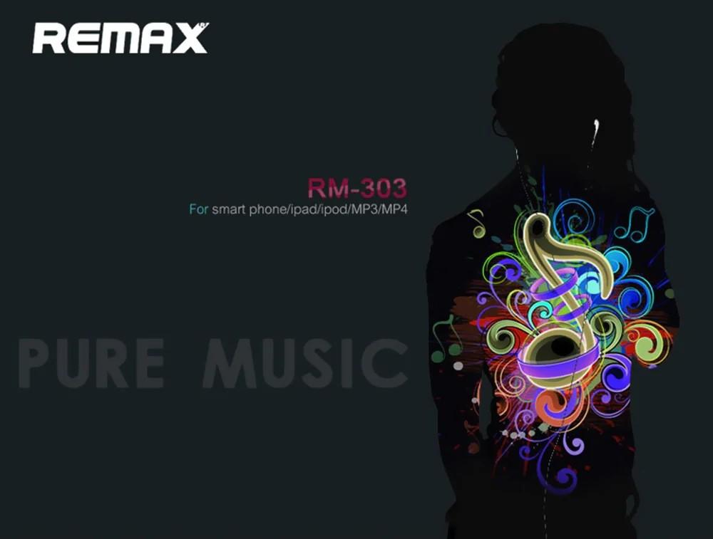 Remax Rm 303 Earphone (10)