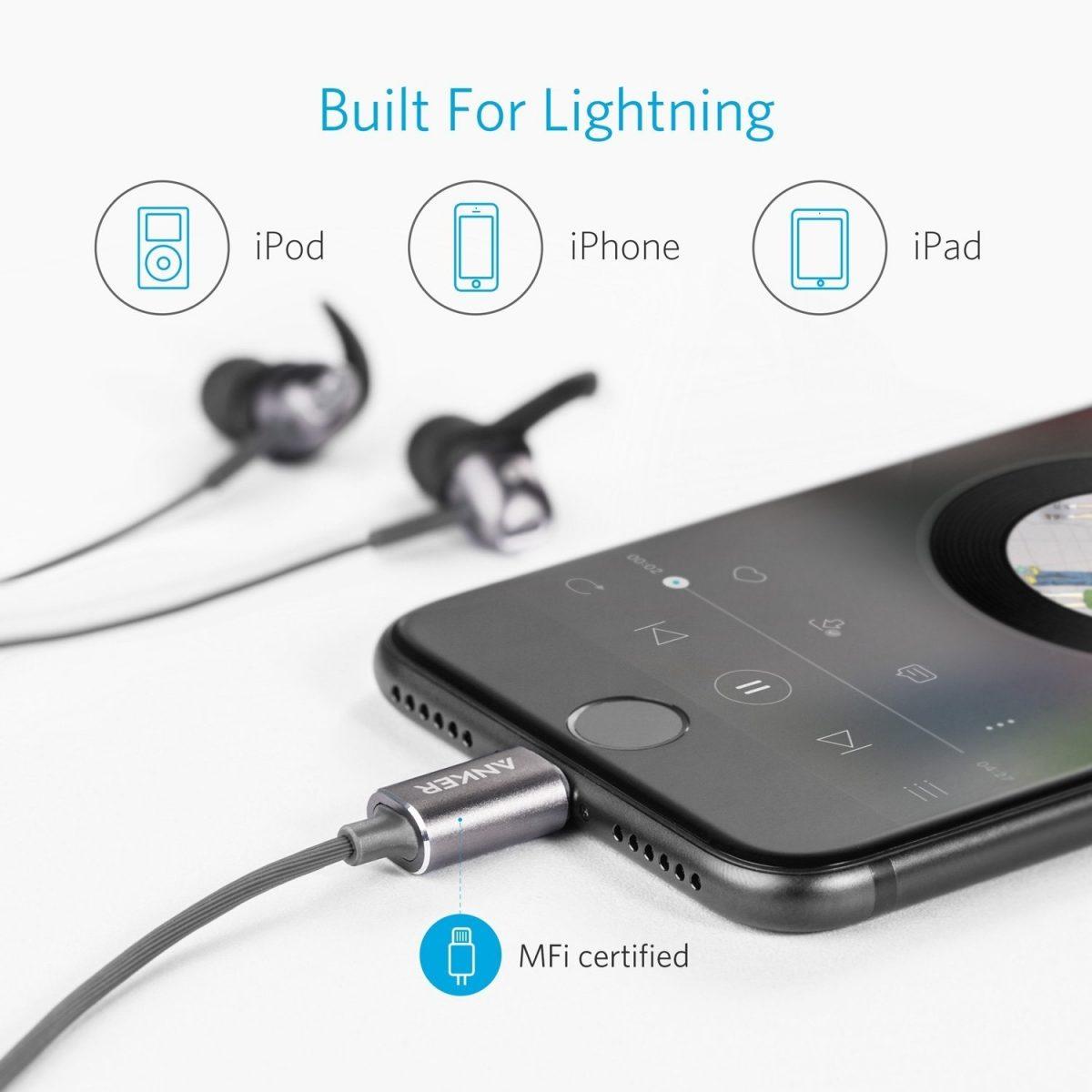 Anker Soundbuds Digital Ie10 In Ear Lightning Headphones (3)