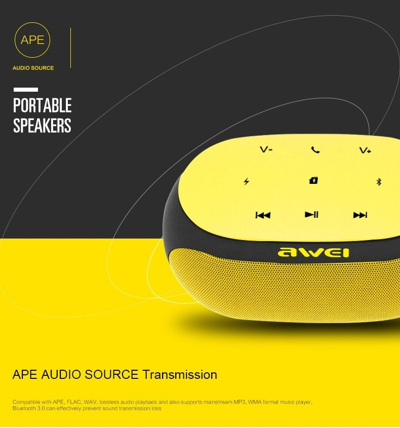 Awei Y200 Hifi Wireless Speaker Bluetooth (14)
