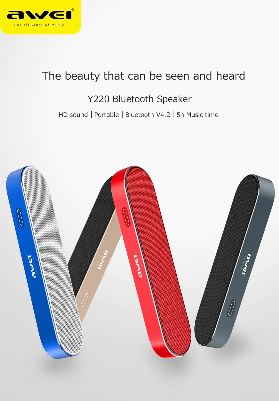 Awei Y220 Bluetooth Portable Wireless Speaker (11)