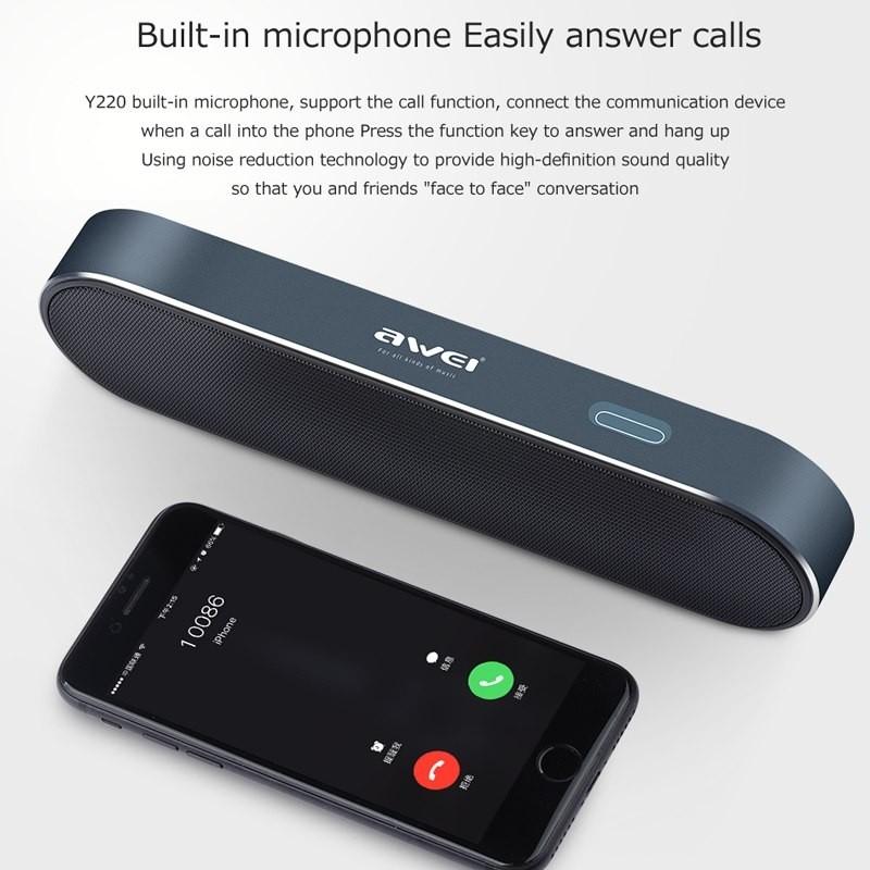 Awei Y220 Bluetooth Portable Wireless Speaker (4)