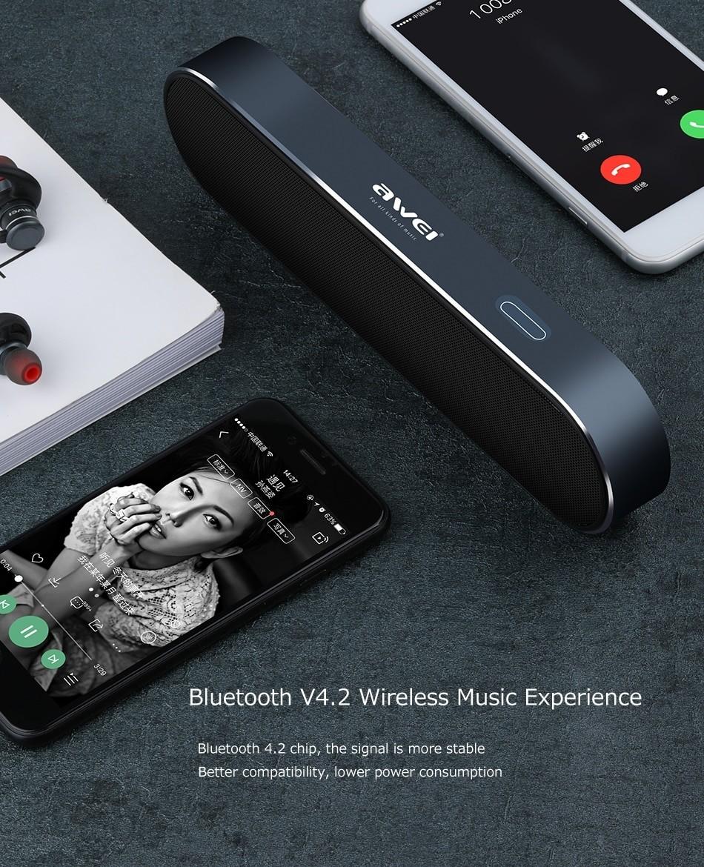 Awei Y220 Bluetooth Portable Wireless Speaker (8)