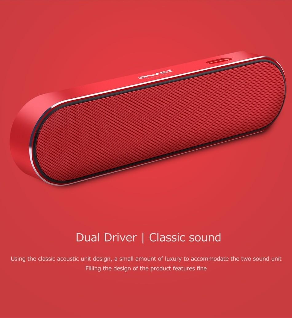 Awei Y220 Bluetooth Portable Wireless Speaker (9)