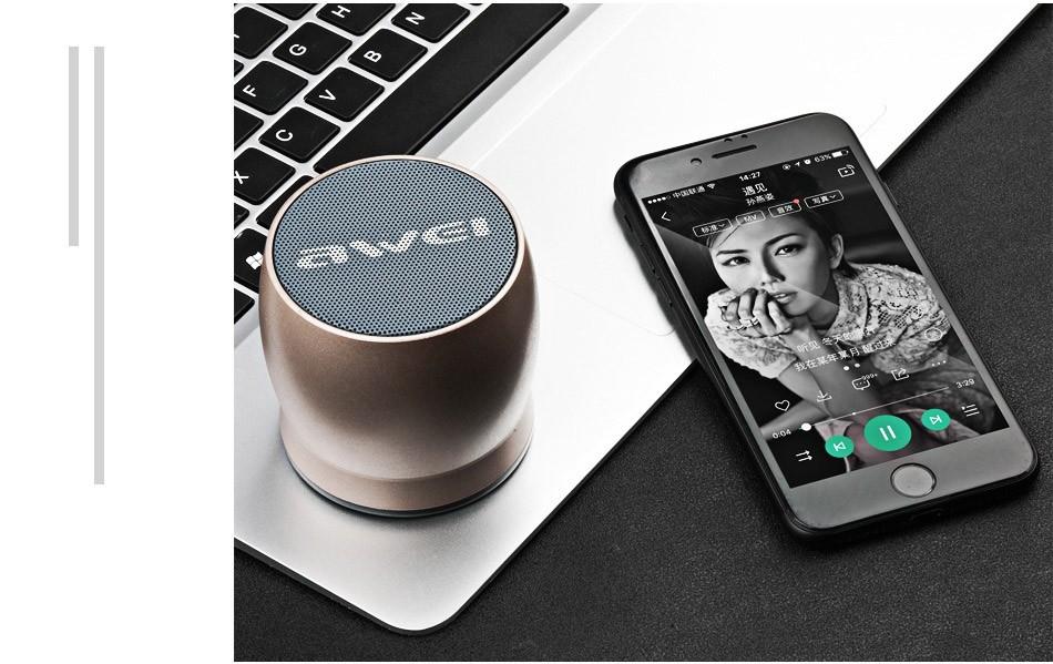 Awei Y500 Mini Bluetooth Speaker (14)